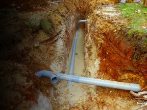 Locating underground pipes